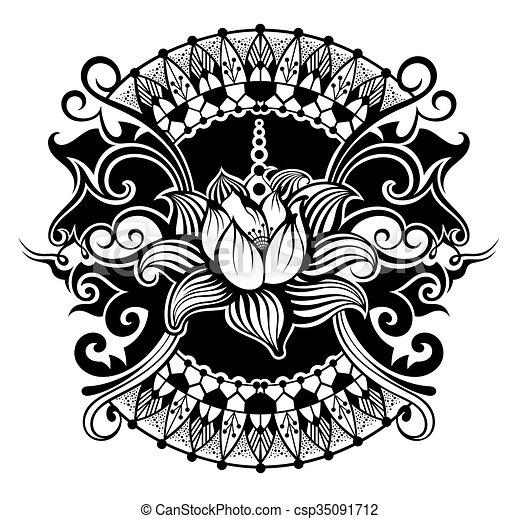 Lotus flower  - csp35091712