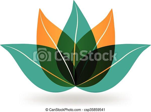 Lotus flower vector logo identity card design lotus flower vector logo mightylinksfo