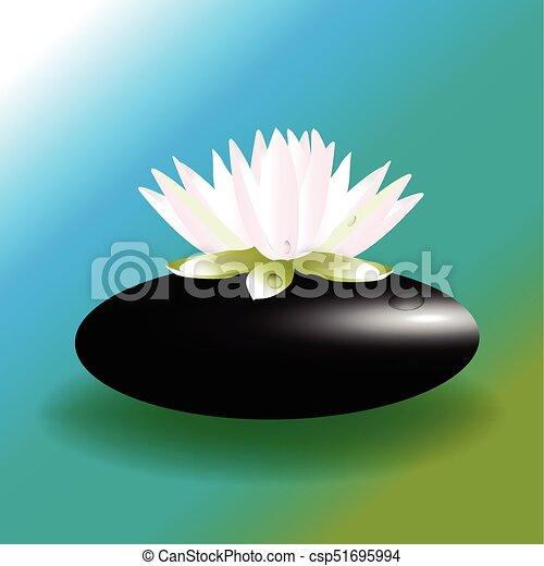 Lotus Flower Zen Logo