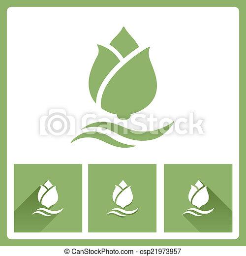 Lotus icons - csp21973957