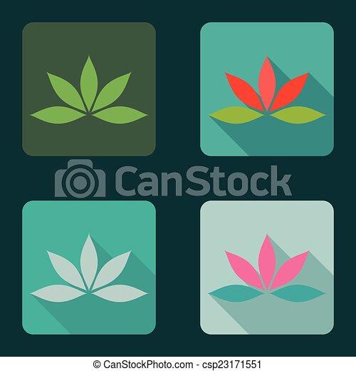 Lotus icons - csp23171551