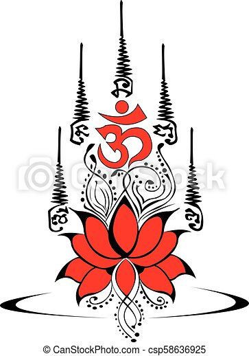 Lotus Thailand Buddhist Lotus Tattoo Design