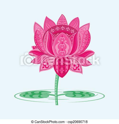 lotusblüte - csp20690718