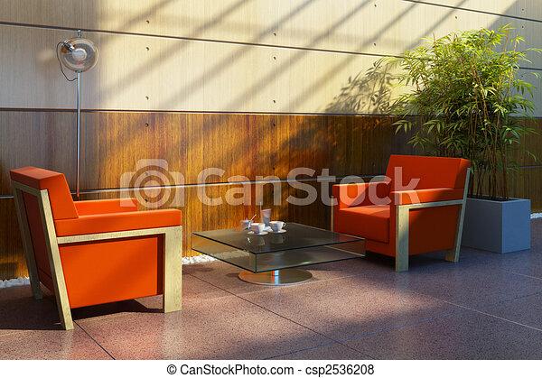 lounge room interior - csp2536208