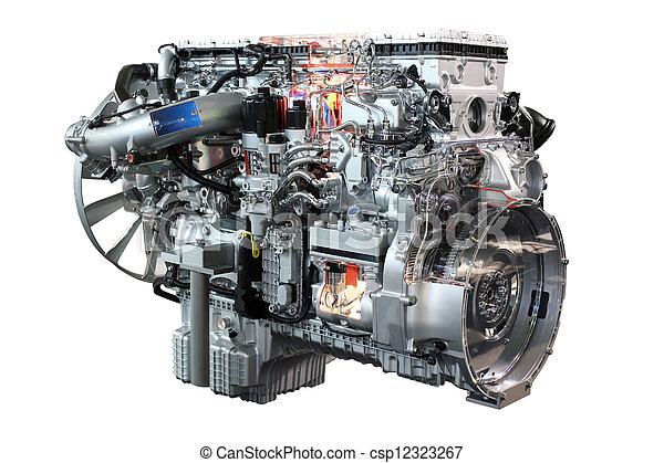 lourd camion diesel isol moteur image de stock recherchez photos et clipart csp12323267. Black Bedroom Furniture Sets. Home Design Ideas