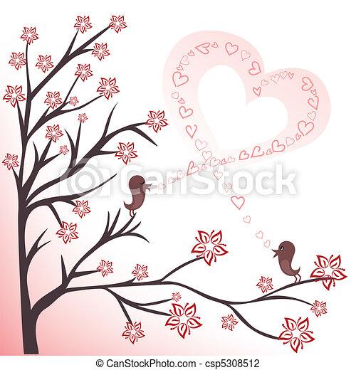 love birds - csp5308512