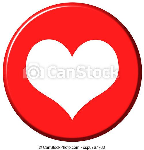 Love Button - csp0767780