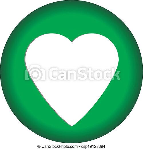 Love button - csp19123894