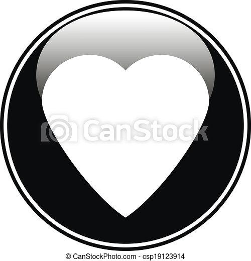 Love button - csp19123914