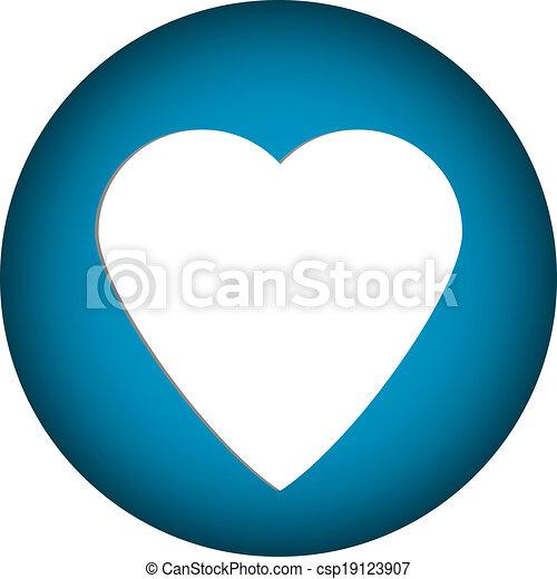 Love button - csp19123907