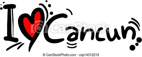 Love Cancun Creative Design Of Love Cancun