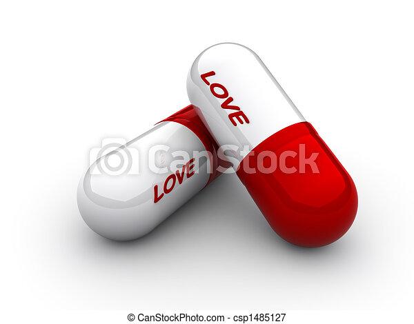 Love capsule - csp1485127