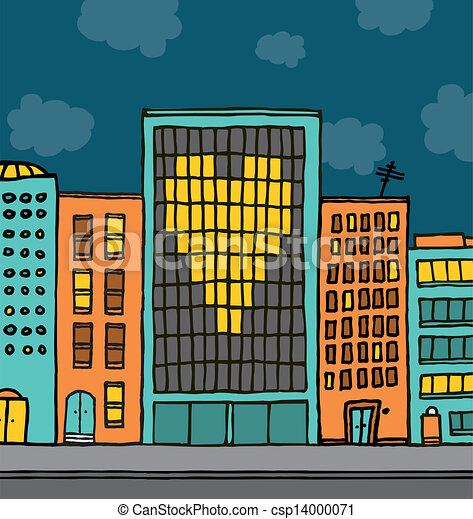 Love city valentine proposal - csp14000071