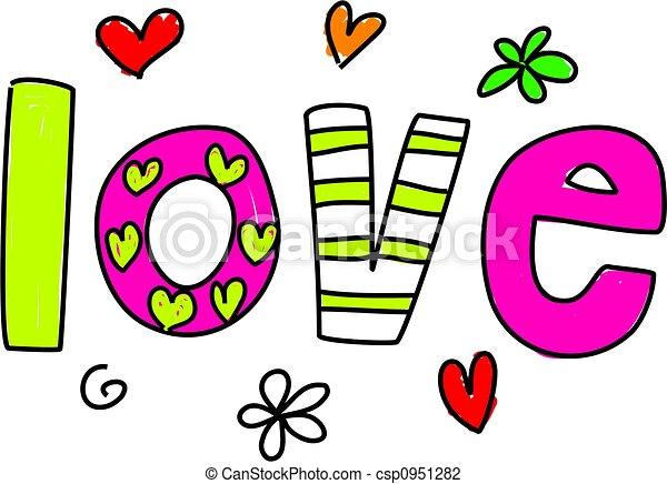 whimsical patterned word love isolated on white clip art search rh canstockphoto com clip art for wordperfect clipart for word free