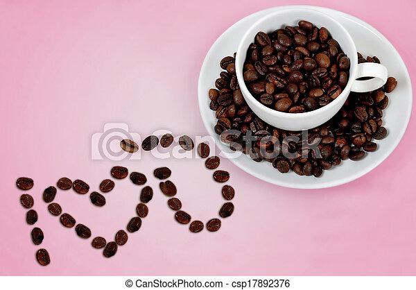 Love coffee - csp17892376