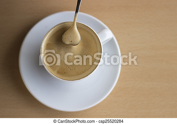 Love coffee - csp25520284