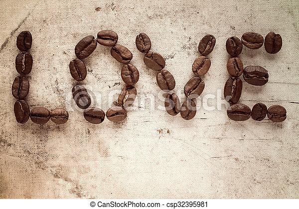 Love coffee - csp32395981