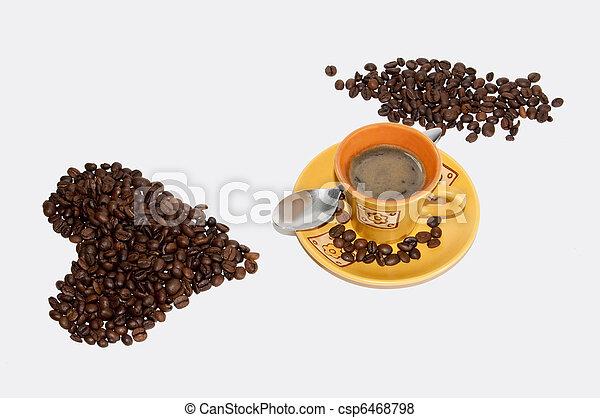 love coffee - csp6468798
