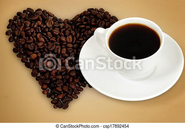 Love coffee - csp17892454