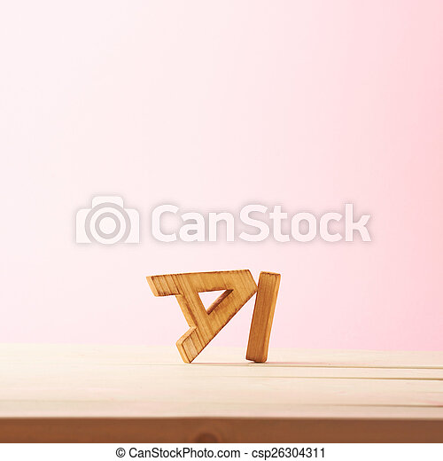 Love composition of letters - csp26304311