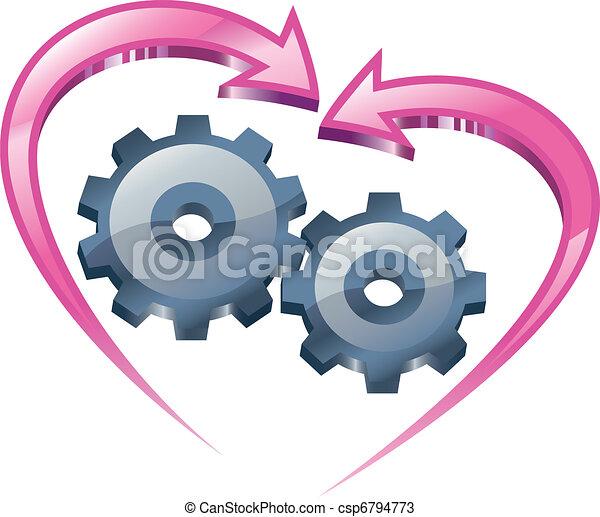 Entendimiento y amor. - csp6794773