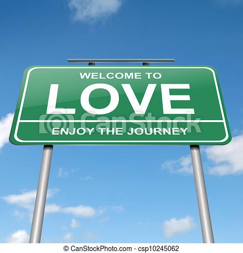 Love concept. - csp10245062