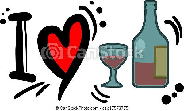 Love drink - csp17573775