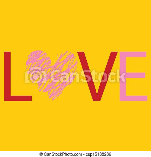 love - csp15188286