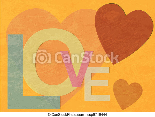Love - csp9719444