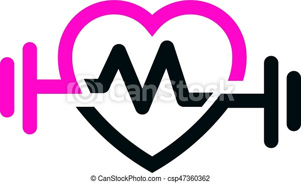 love fit with pulse logo vector letter m love fit with clip art rh canstockphoto com royalty free vector art of horseshoe royalty free vector art