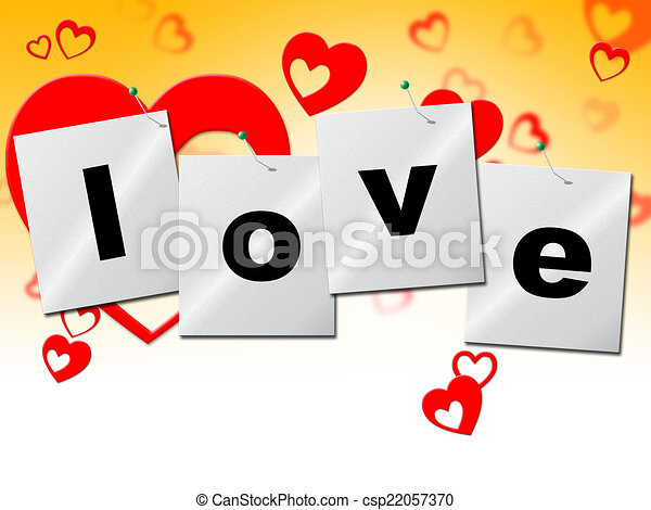 Love Heart Means Romantic Relationship And Affection Heart Love