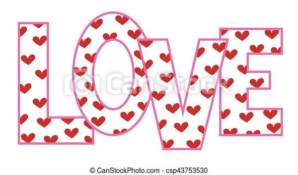 Love Hearts - csp43753530