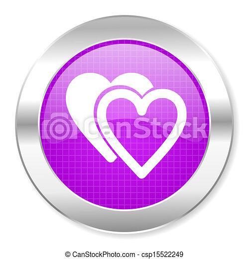love icon - csp15522249