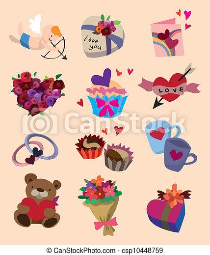 love icons - csp10448759