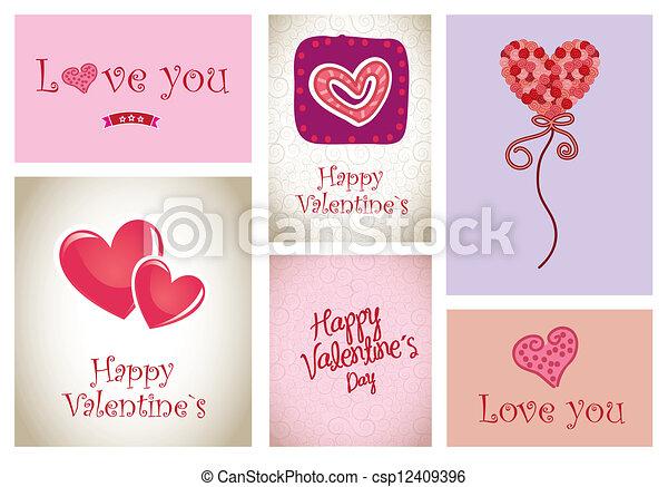 Love icons - csp12409396