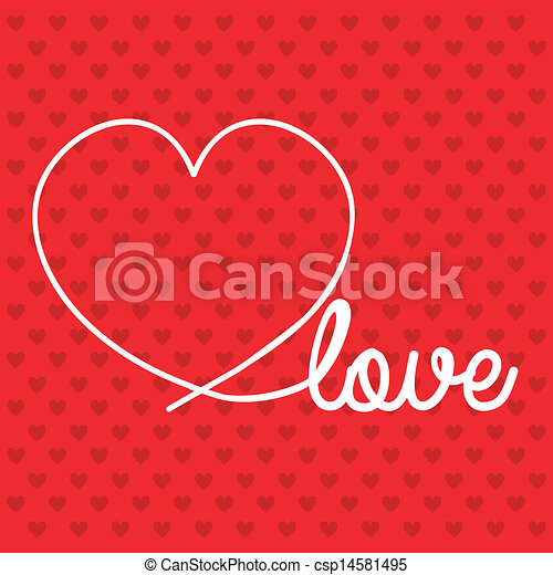 Love icons - csp14581495