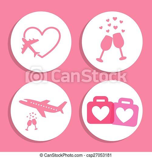 love icons  - csp27053181