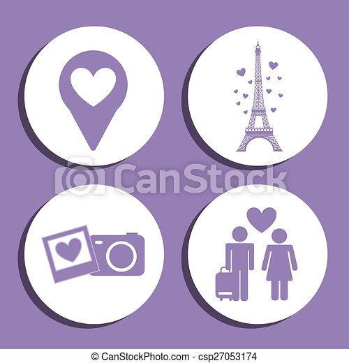 love icons  - csp27053174
