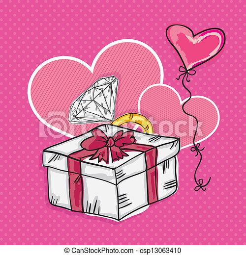 Love Icons - csp13063410