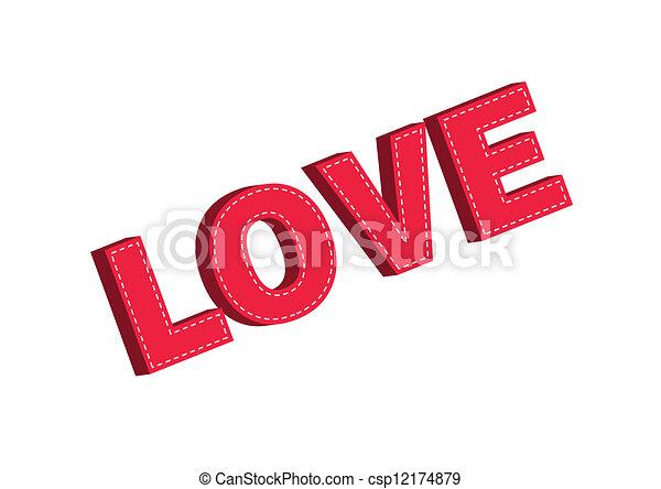 Love - csp12174879