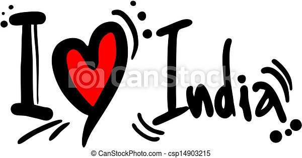 creative design of love india vector clip art search illustration rh canstockphoto com indian clipart free indiana clipart