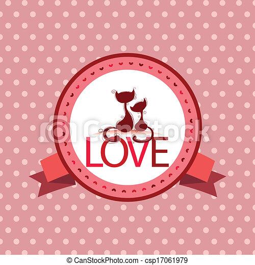 Love label - csp17061979