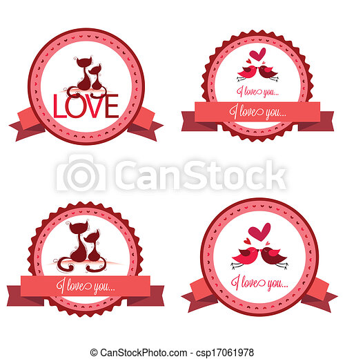 Love labels - csp17061978