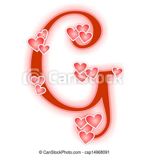 love letter, alphabet r. love alphabet decorated with drawings