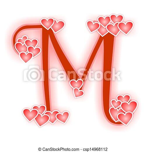 Love Letter Alphabet M