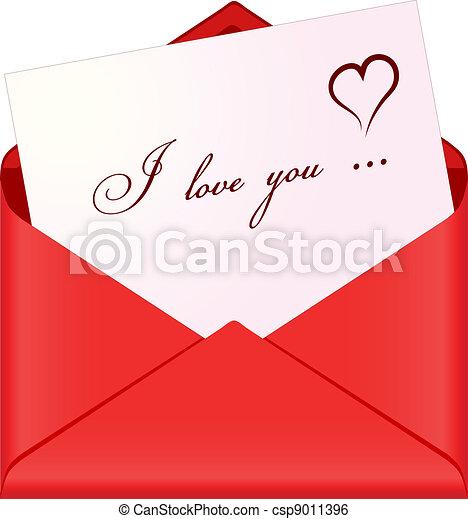 Love message - csp9011396
