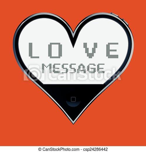 Love message - csp24286442