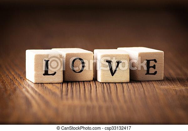 Love message. - csp33132417