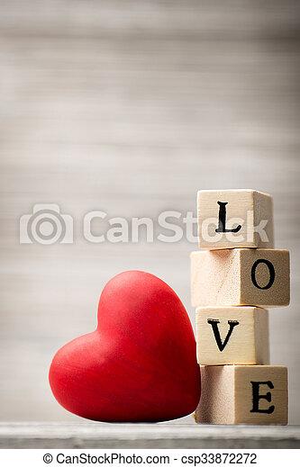 Love message. - csp33872272