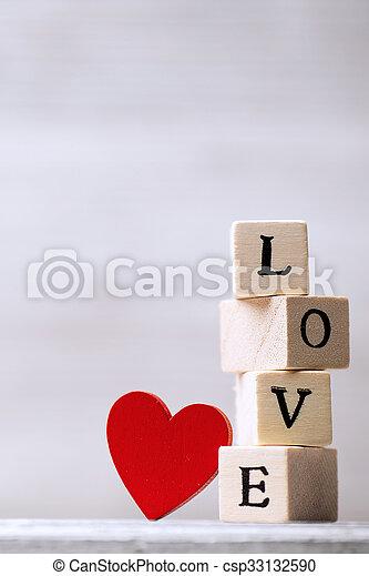 Love message. - csp33132590
